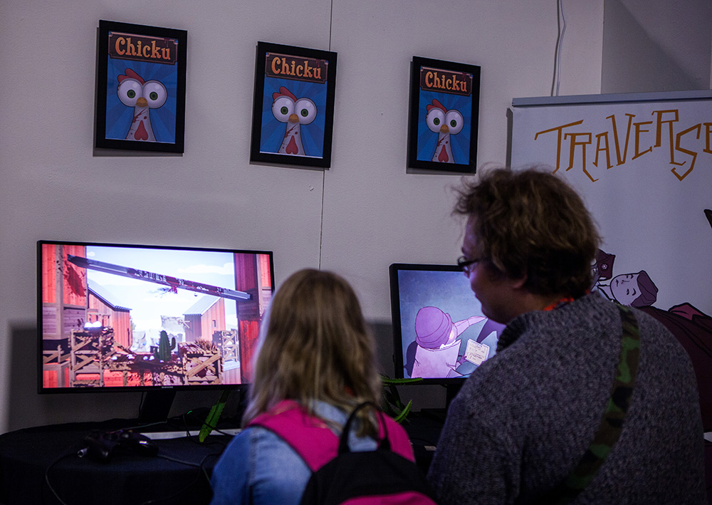 Chicku indie game at Comic Con Malmö 2015