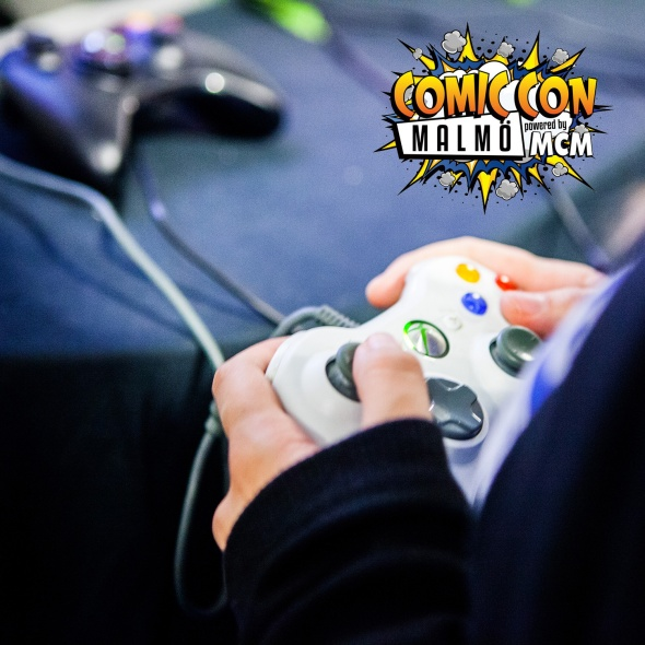 Gaming at ComicCon Malmö 2015