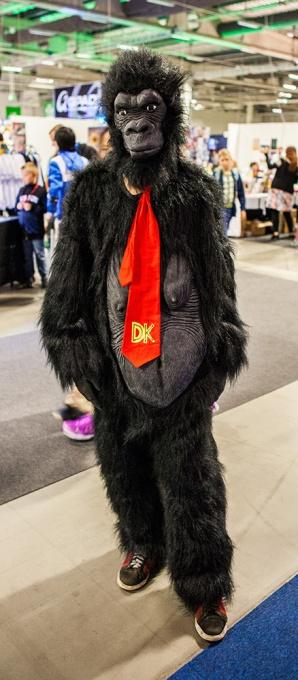 Donkey Kong at Comic Con Malmö 2015