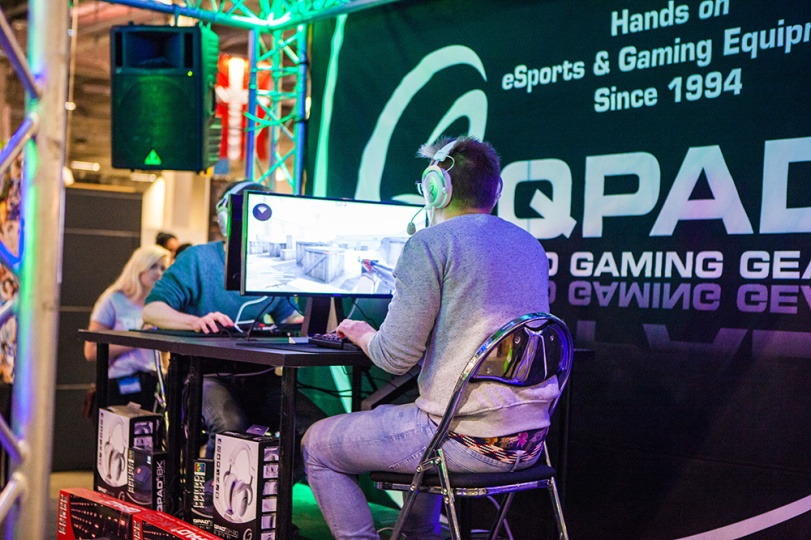 E-sports at Comic Con Malmö 2015