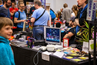 Game demo at Retro Gathering