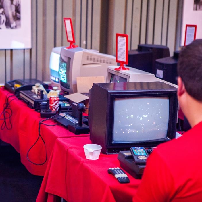 Games at Retro Gathering