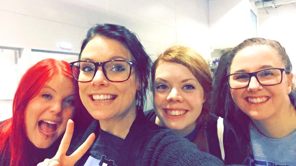 Geeky Gals at Comic Con Malmö 2015