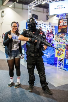 Resident Evil Cosplay with Geeky Gals Jinn at Comic Con Malmö 2015