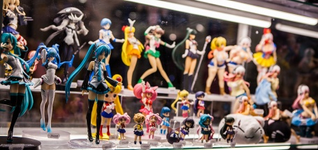 Manga toys at Comic Con Malmö 2015