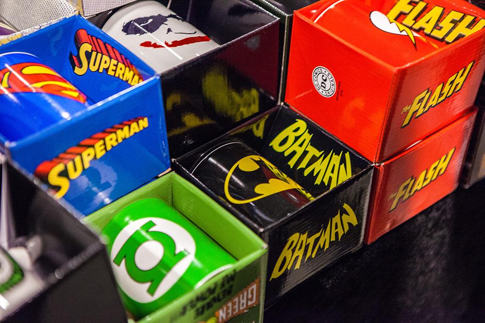 Batman mug at Comic Con Malmö 2015