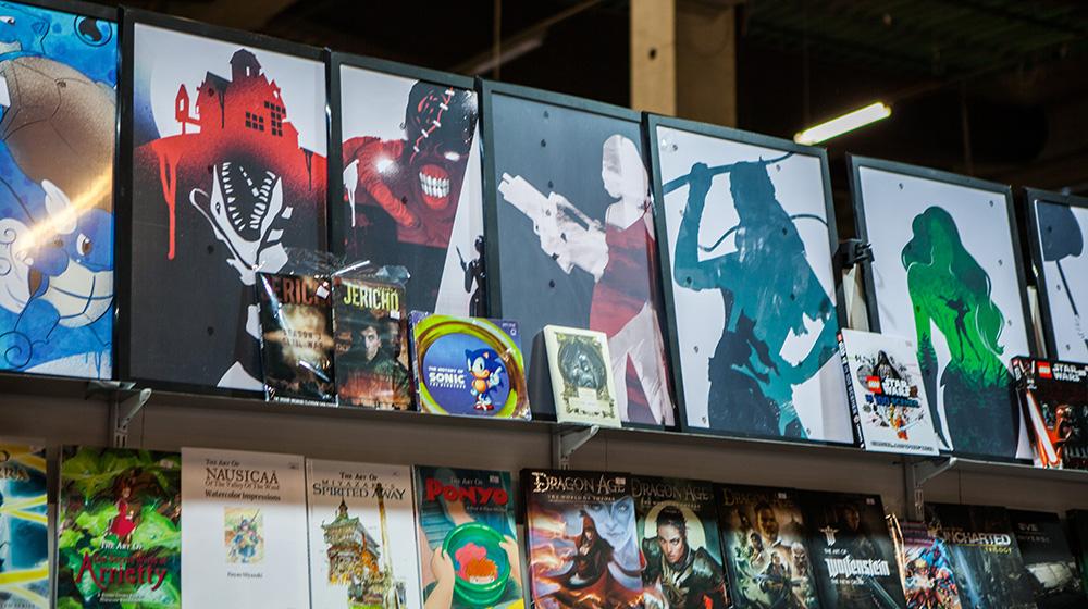 Geeky paintings at Comic Con Malmö 2015
