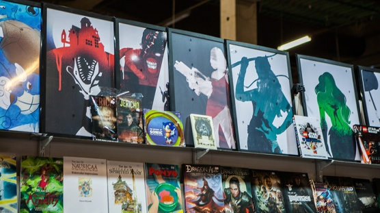 Geeky paintings at Comic Con Malmö 2015