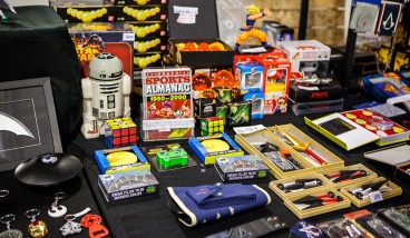 Geeky merch at Comic Con Malmö 2015