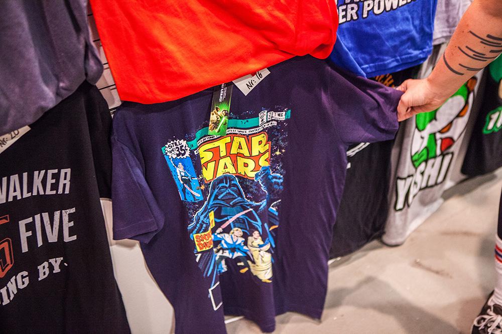 Star Wars T-shirt at Comic Con Malmö 2015