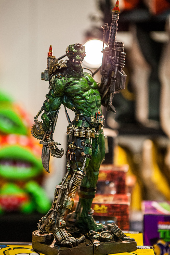 Action figures at Comic Con Malmö 2015