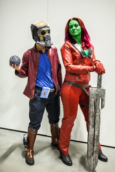 Guardians of the Galaxy Cosplay at Comic Con Malmö 2015