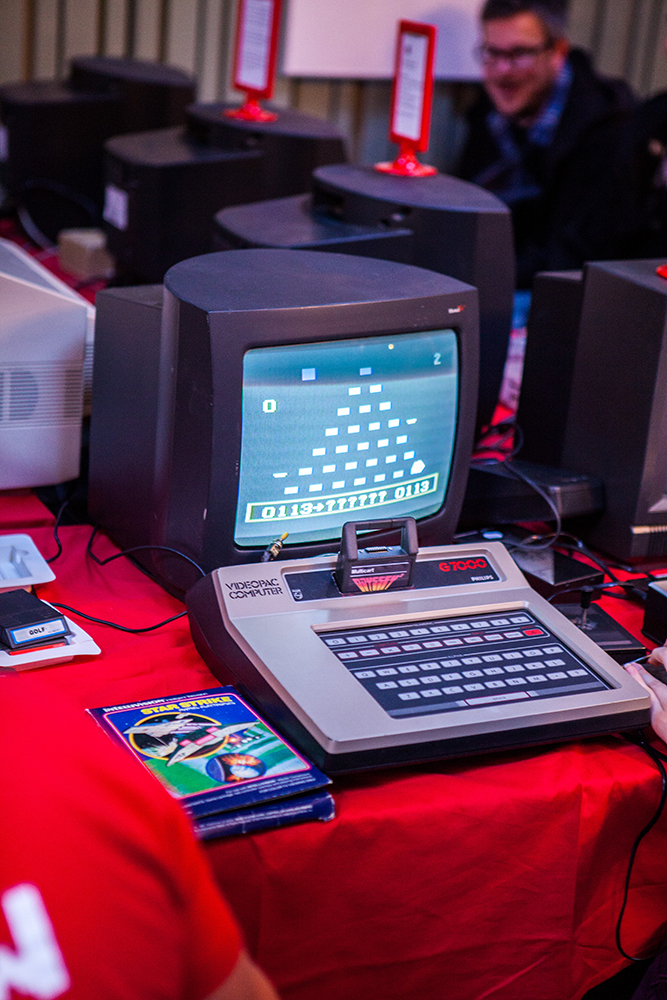 Videopac G7000 at Retro Gathering
