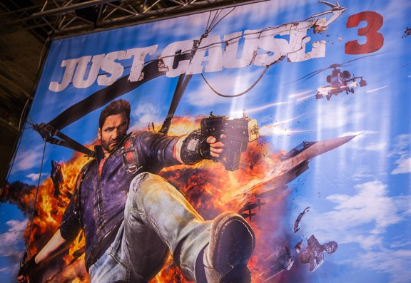 Just Cause 3 at Comic Con Malmö 2015