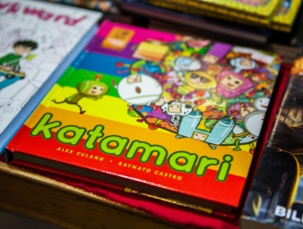 Katamari comicbook at Comic Con Malmö 2015