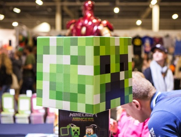 Minecraft Creeper at Comic Con Malmö 2015