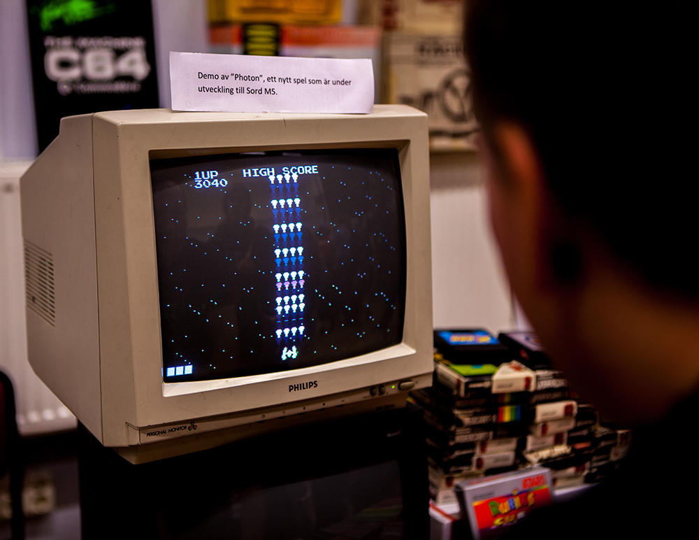 Photon in action at Retro Gathering