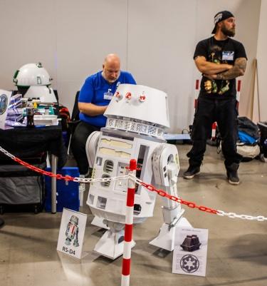R5-D4 at Comic Con Malmö 2015