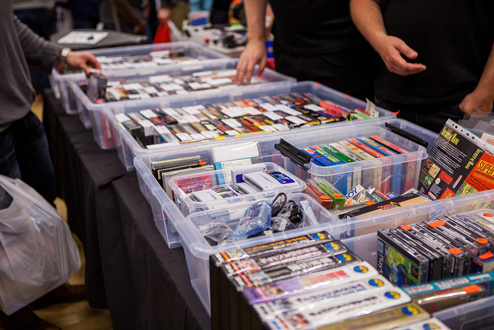 Retro Games at Retro Gathering
