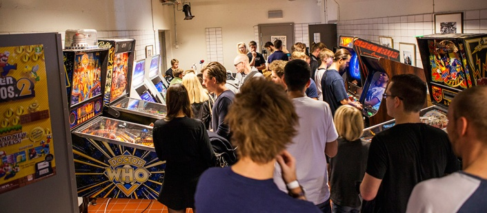 Retrospelsfestivalen 2014 - Pinball and arcades