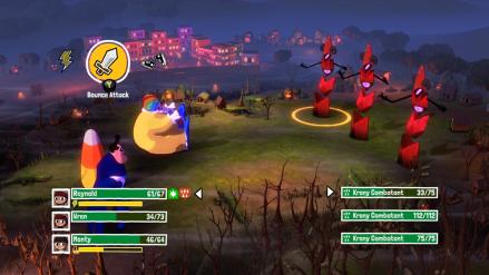 Qostume Quest 2 fight