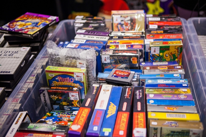 SNES at Retro Gathering