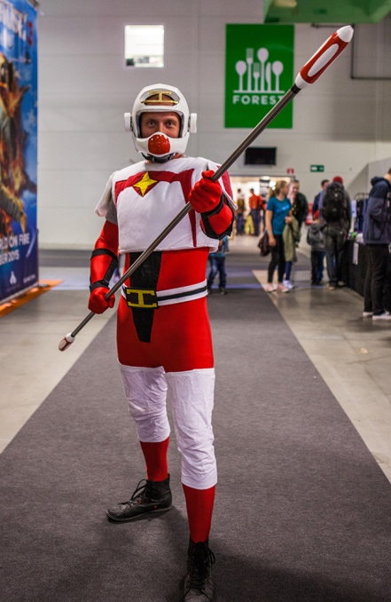 Star Zinger Cosplay at Comic Con Malmö 2015