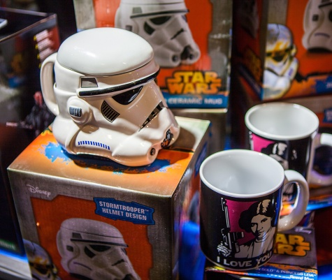 Storm trooper mug at Comic Con Malmö 2015