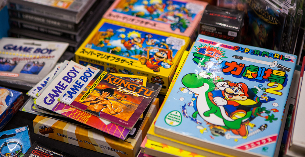 Super Mario Manual at Retro Gathering