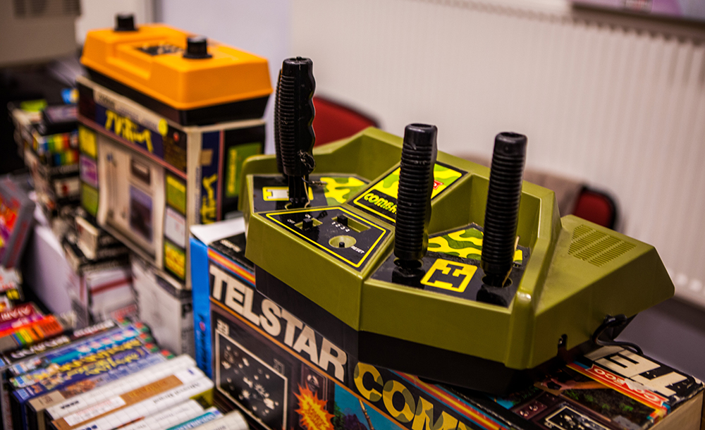 Telstar Combat console at Retro Gathering