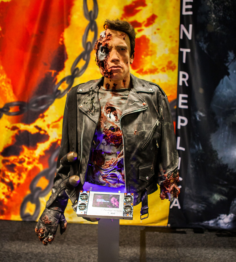 Terminator Replica at Comic Con Malmö 2015