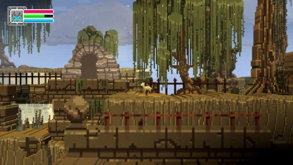 The Deer God Screenshot - Boss Cave