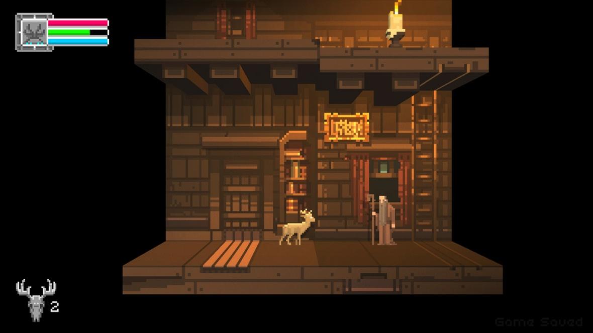The Deer God Screenshot - Old man's house