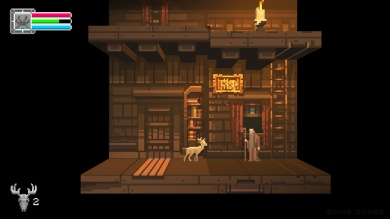 The Deer God Screenshot - Old man's house