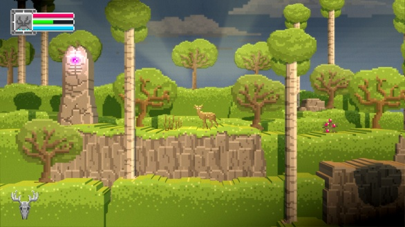 The Deer God Screenshot - Pillar