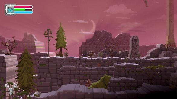The Deer God Screenshot - Rocky terrain