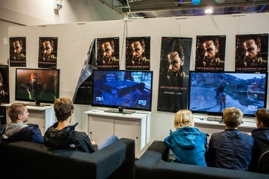 Metal Gear V: The Phantom Pain at Comic Con Malmö 2015
