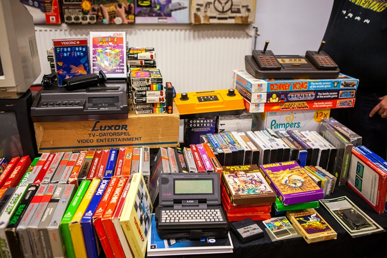 Vintage games at Retro Gathering