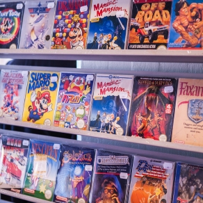 CIB NES games at Retrospelsfestivalen 2015
