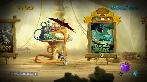 Rayman Legends PS4 Screenshot - Awesomeness
