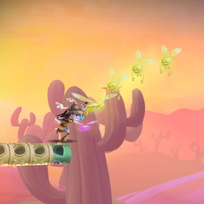 Rayman Legends PS4 Screenshot - Catch Them Lumes!