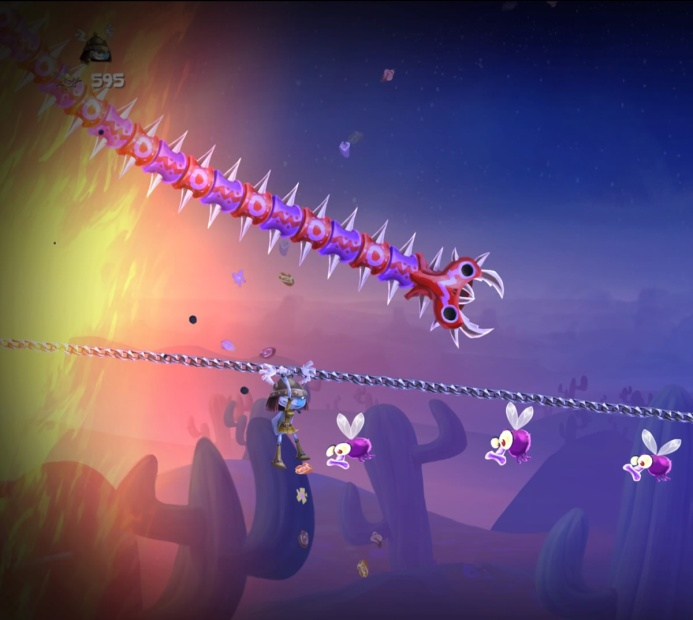 Rayman Legends PS4 Screenshot - Slide!