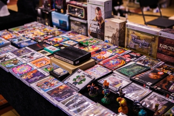 Retro Games for sale at Retrospelsfestivalen 2015