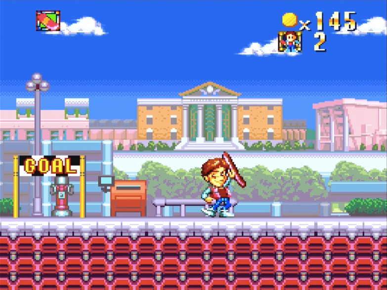 Super Back to the Future Parti II for Super Famicom