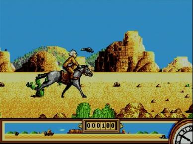 Back to the Future Part III on Sega Mega Drive
