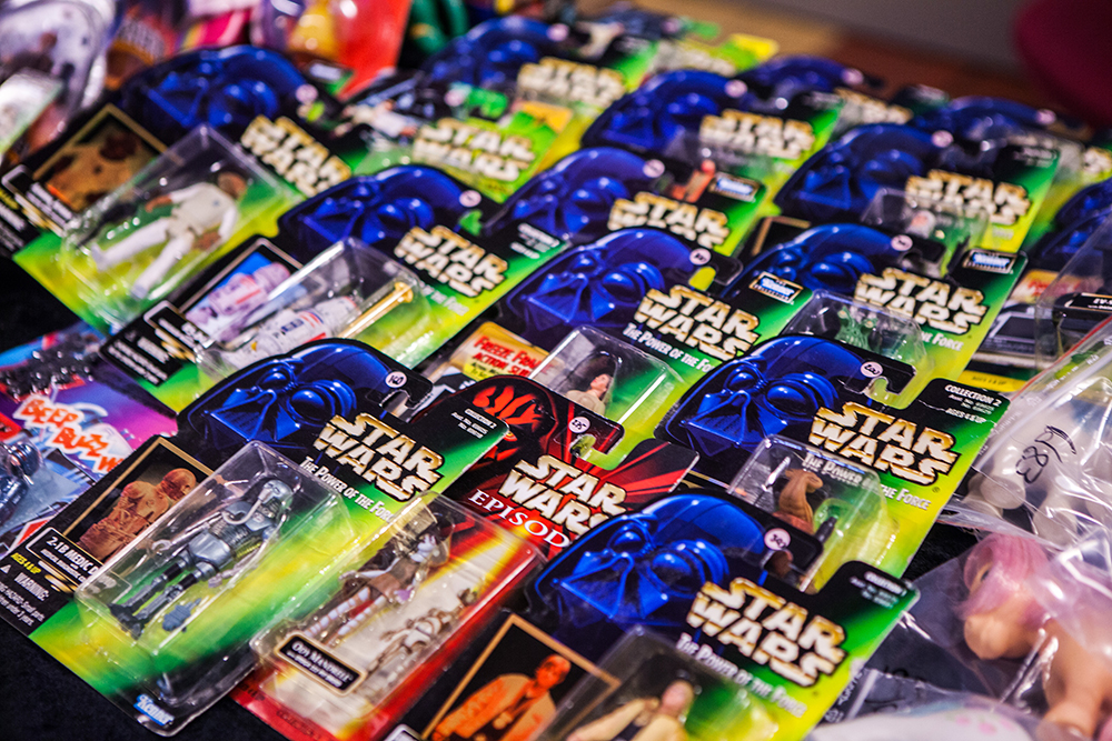 Star Wars toys at Retrospelsfestivalen 2015