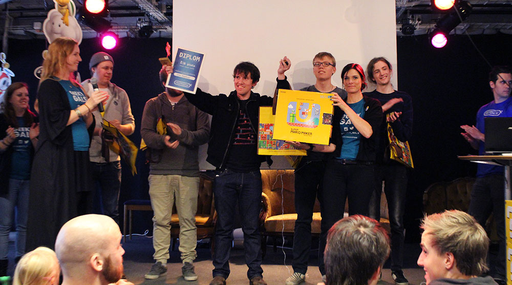 Winner of Super Mario Maker Competition