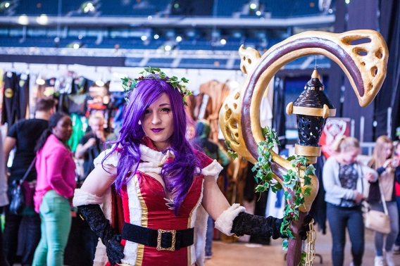 Amazing cosplay - ComicCon Gamex 2015