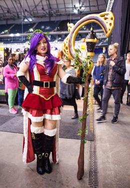Amazing cosplayer - ComicCon Gamex 2015