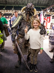 Awesome cosplayer - ComicCon Gamex 2015
